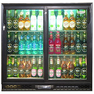 Infrico Bottle Cooler (Sliding Doors Bottle Cooler)