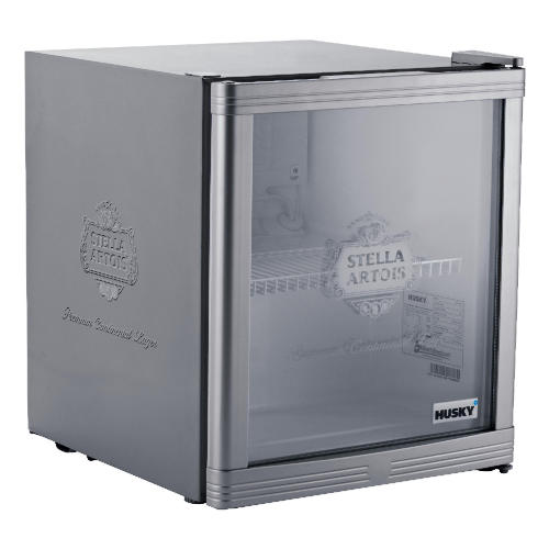 Husky beer fridge with grey/silver effect